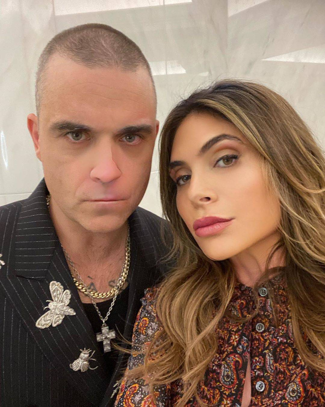 Robbie Williams i Ayda Field