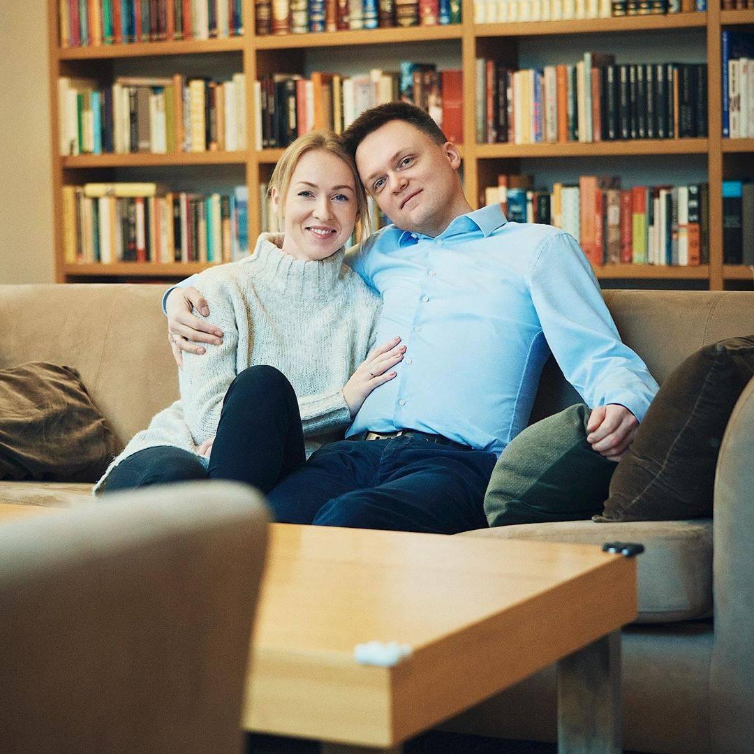Szymon Hołownia z żoną Urszulą