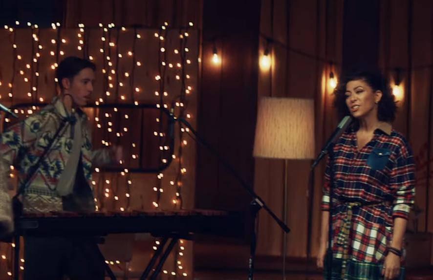 Natalia Kukulska i Jan Dąbrówka nagrali cover Coraz bliżej święta