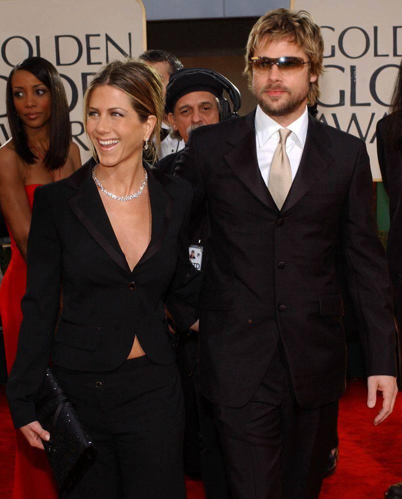 Brad Pitt i Jennifer Aniston – Złote Globy
