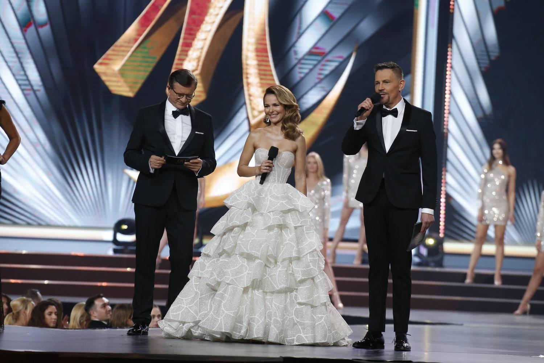 Paulina Sykut-Jeżyna, Zygmunt Chajzer, Krzysztof Ibisz - Miss Polski 2019