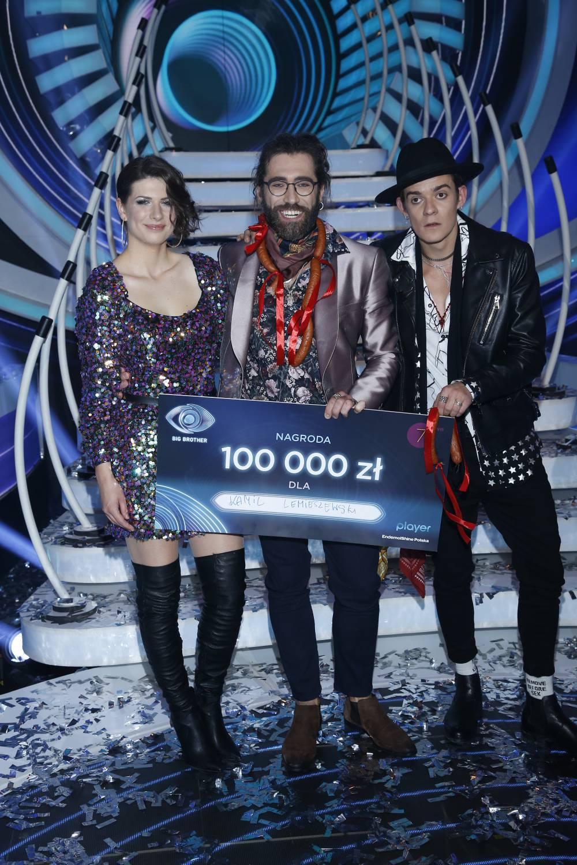 Kamil Lemieszewski wygrał Big Brother 2