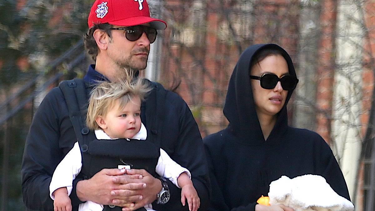 Bradley Cooper i Irina Shayk z córką