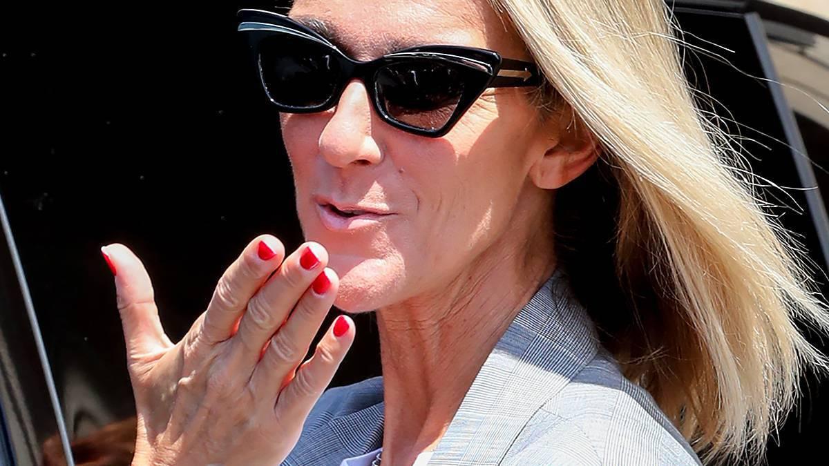 Celine Dion w szałowych butach