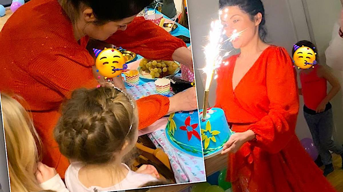 Kasia Cichopek, urodziny córki