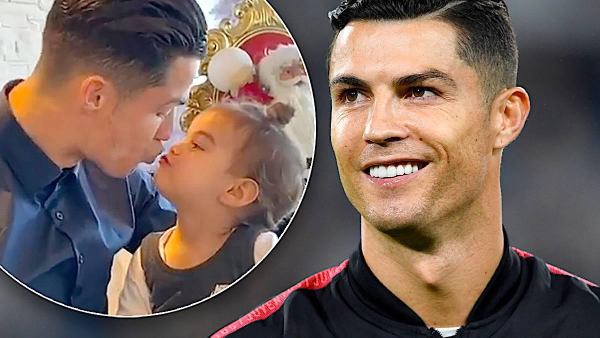 Cristiano Ronaldo z córką