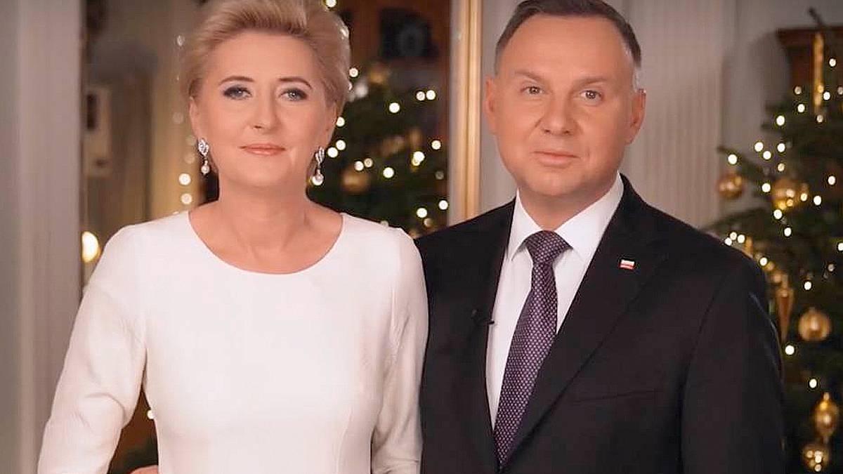 Andrzej i Agata Duda – święta 2019