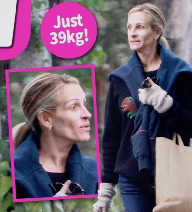 Julia Roberts wpadła w anoreksję? Tak twierdzi NW Weekly