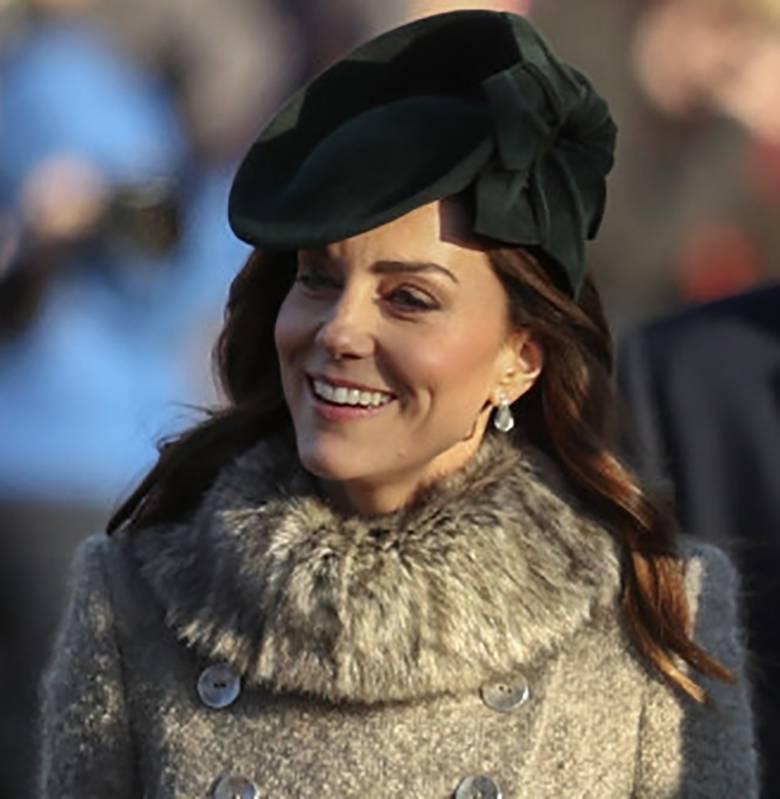 Księżna Kate na mszy świątecznej 2019