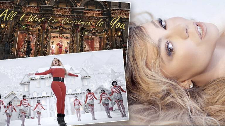 All I Want For Christmas Mariah Carey, nowy teledysk 2019