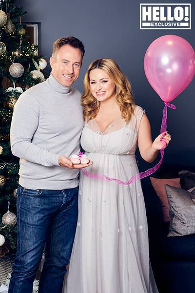 Ola Jordan urodzi córkę