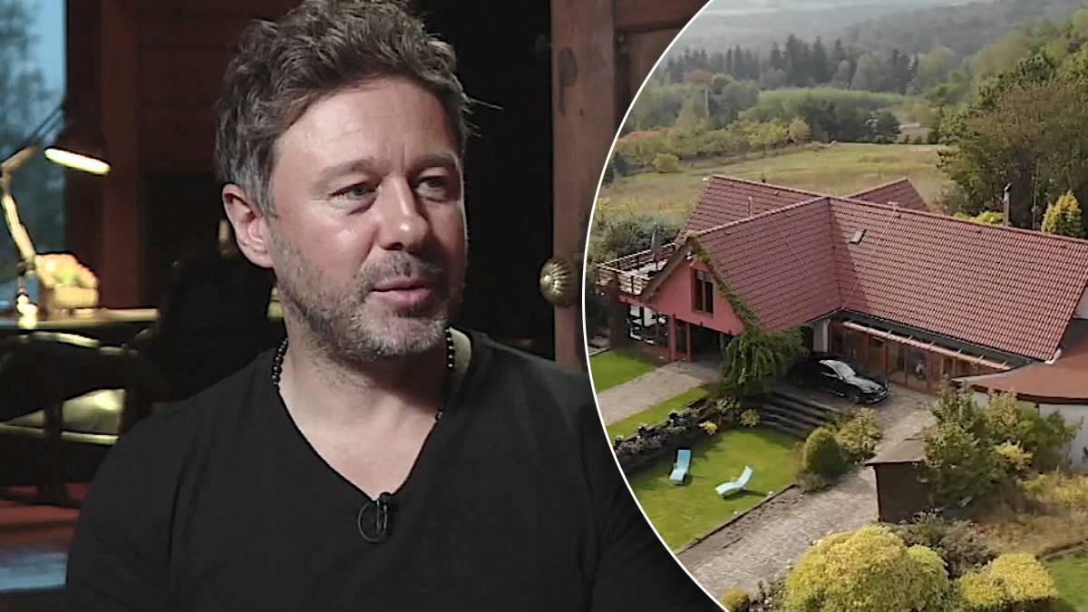 Andrzej Piaseczny pokazał dom. Jak mieszka?