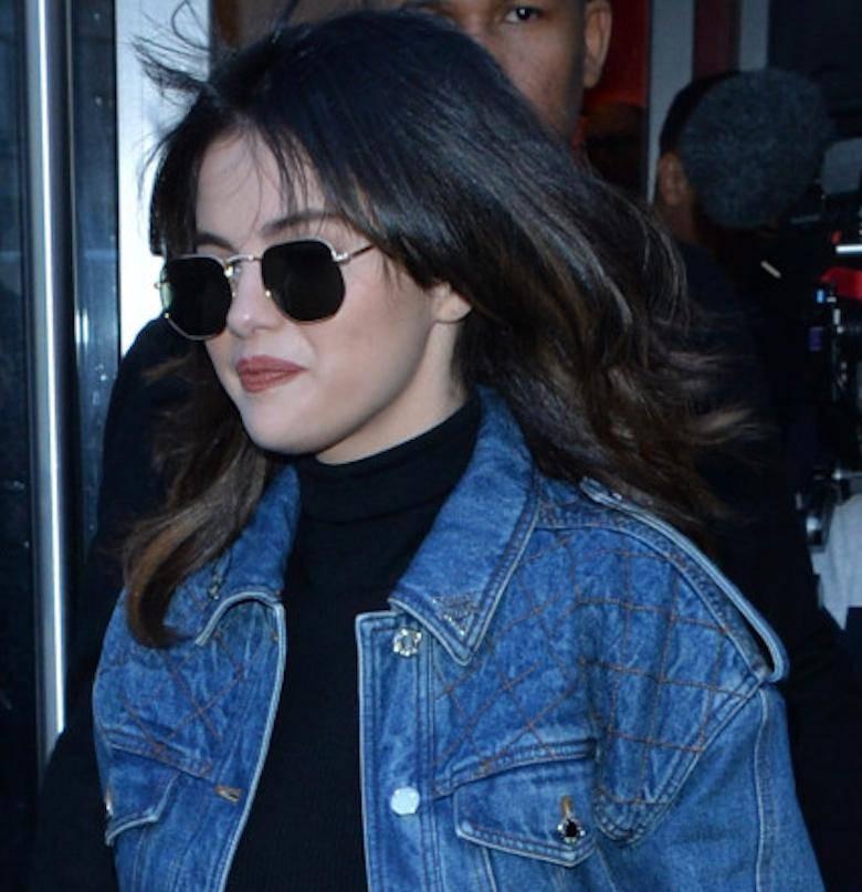 Selena Gomez z grzywką