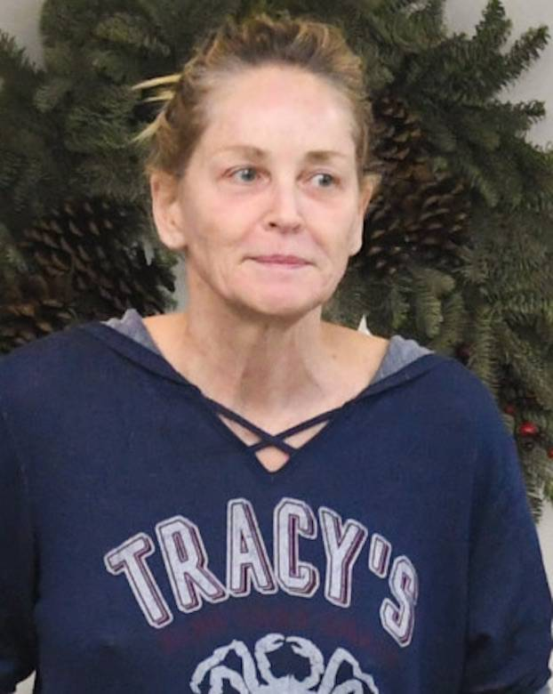 Sharon Stone bez makijażu