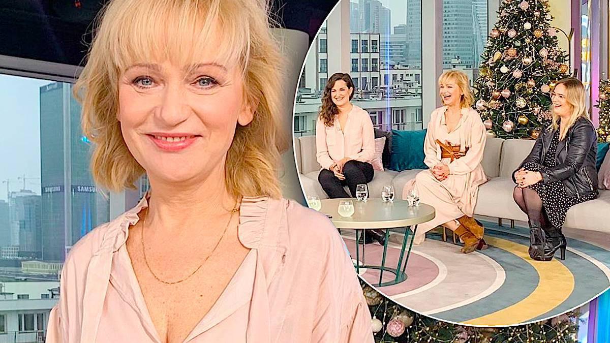 Katarzyna Żak z córkami w DDTVN