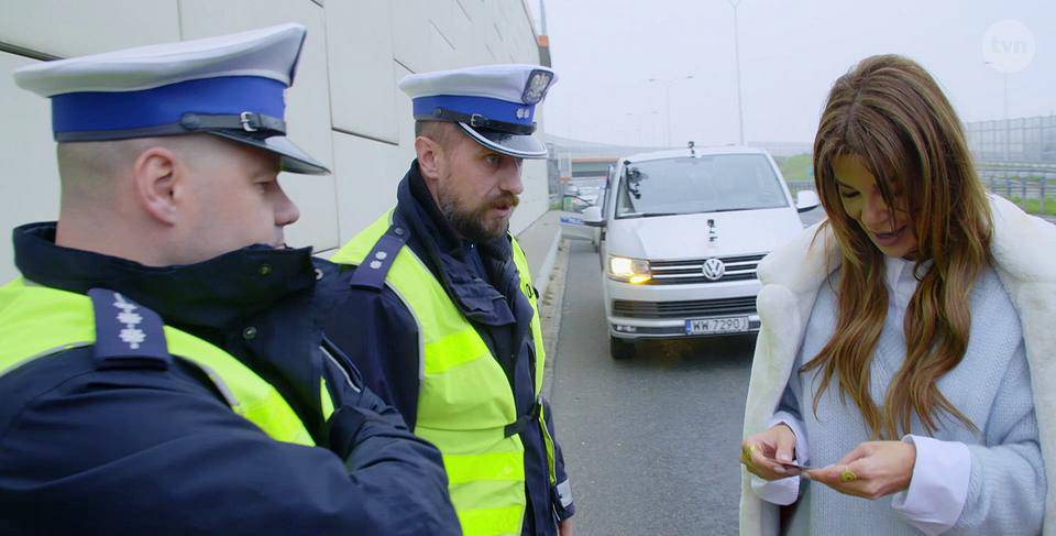 Edyta Górniak zatrzymana przez policję