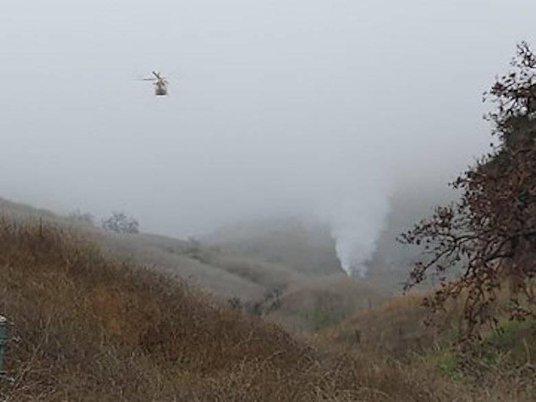 Katastrofa helikoptera, którym leciał Kobe Bryant z córką