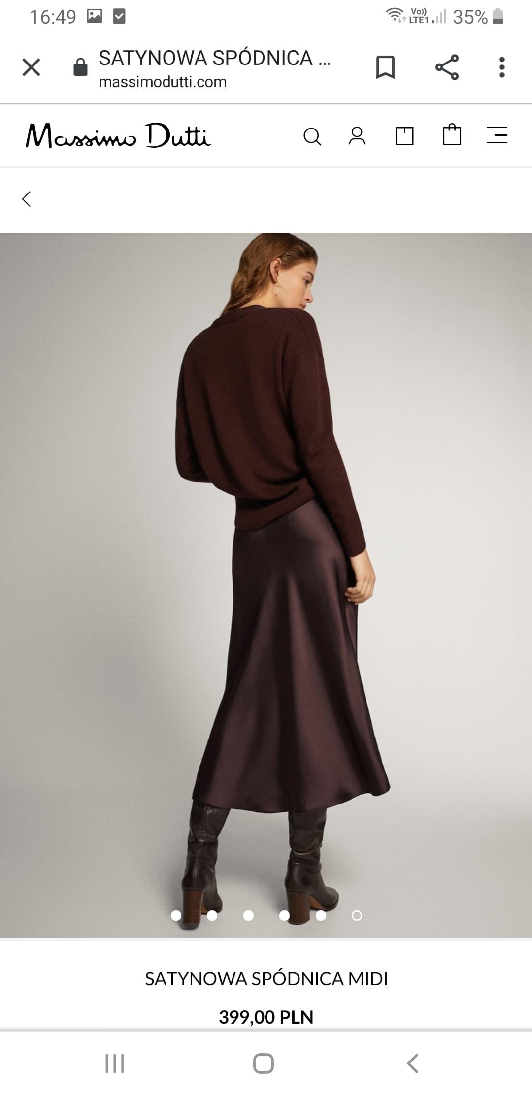 Spódnica Massimo Dutti wybrana przez Meghan Markle