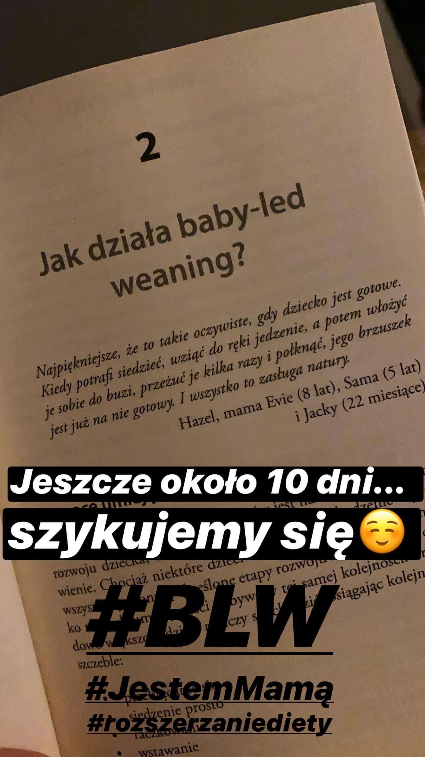 Agnieszka Kaczorowska - dieta Emilki