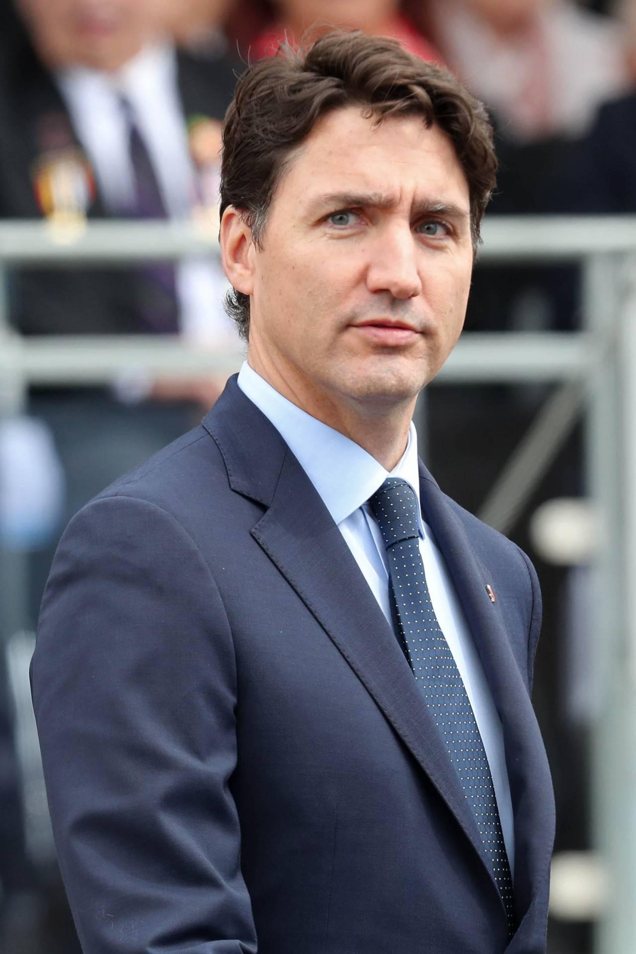 Justin Trudeau na uroczystościach w Wielkiej Brytanii, Czerwiec 2019