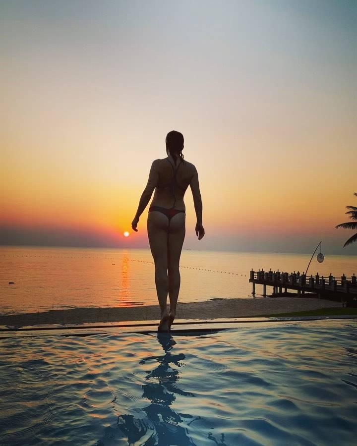 Anna Dereszowska w bikini
