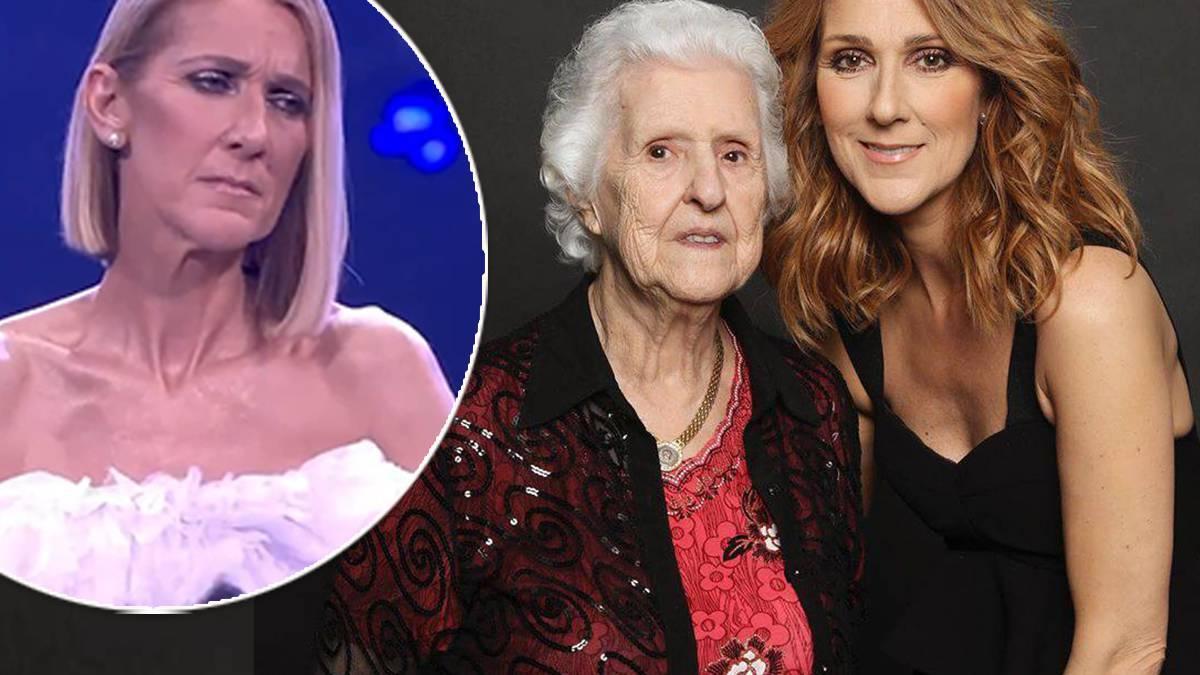 Celine Dion - hołd dla matki