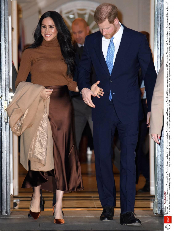 Książę Harry i Meghan Markle – pierwsze wystąpienie w 2020