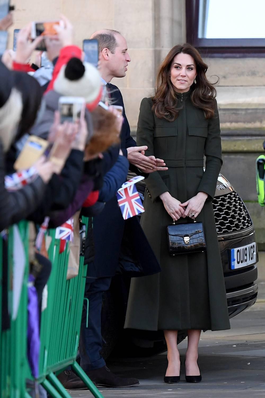 Księżna Kate na spotkaniu w Bradford