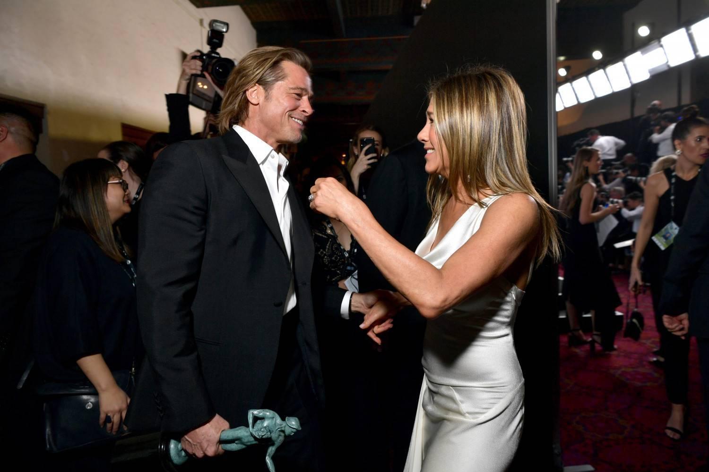 Brad Pitt i Jennifer Aniston - SAG Awards 2020