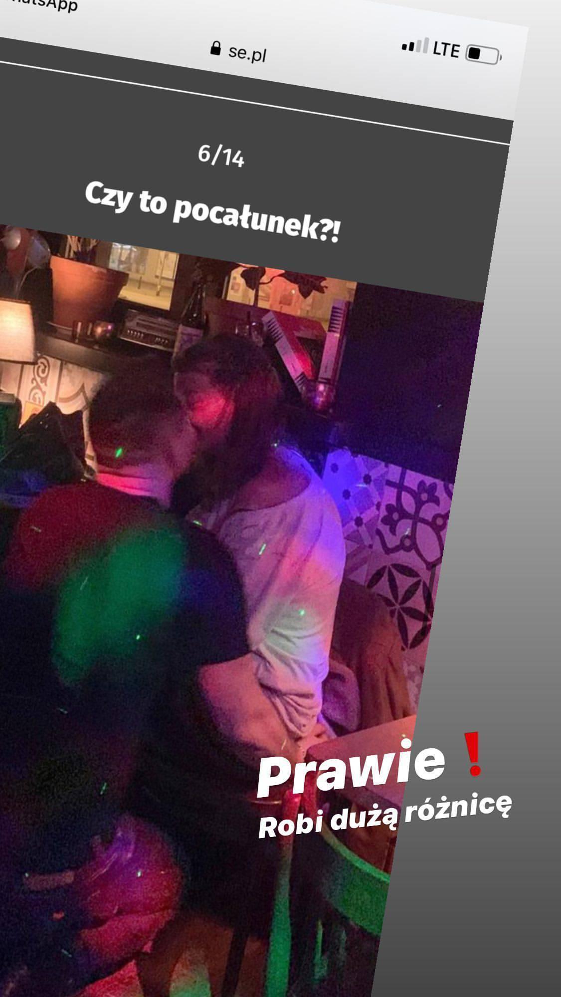 Edyta Górniak całowała się ze swoim instruktorem?