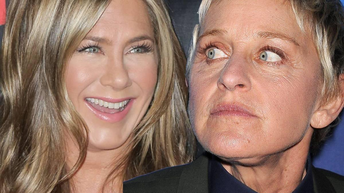Jennifer Aniston żartuje z Ellen DeGeneres