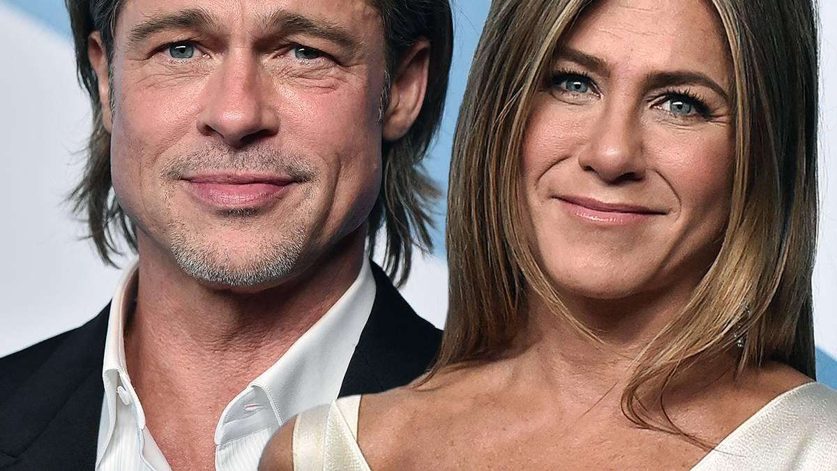 Jennifer Aniston i Brad Pitt - SAG Awards 2020
