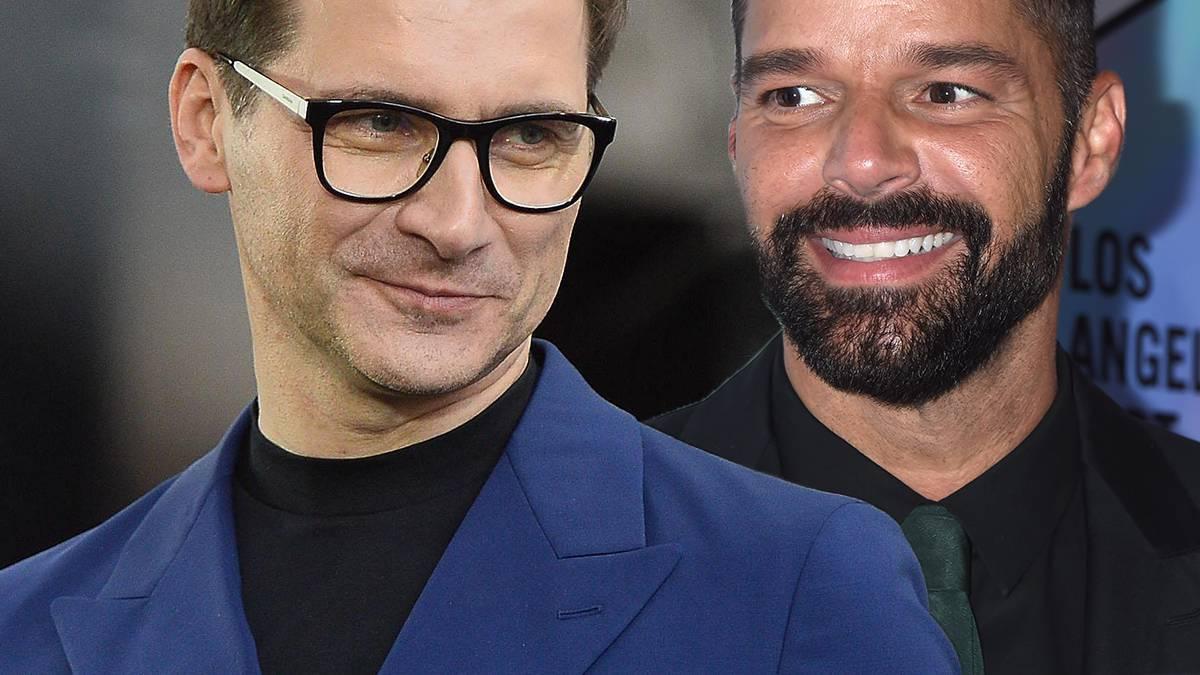Tomasz Kammel i Ricky Martin