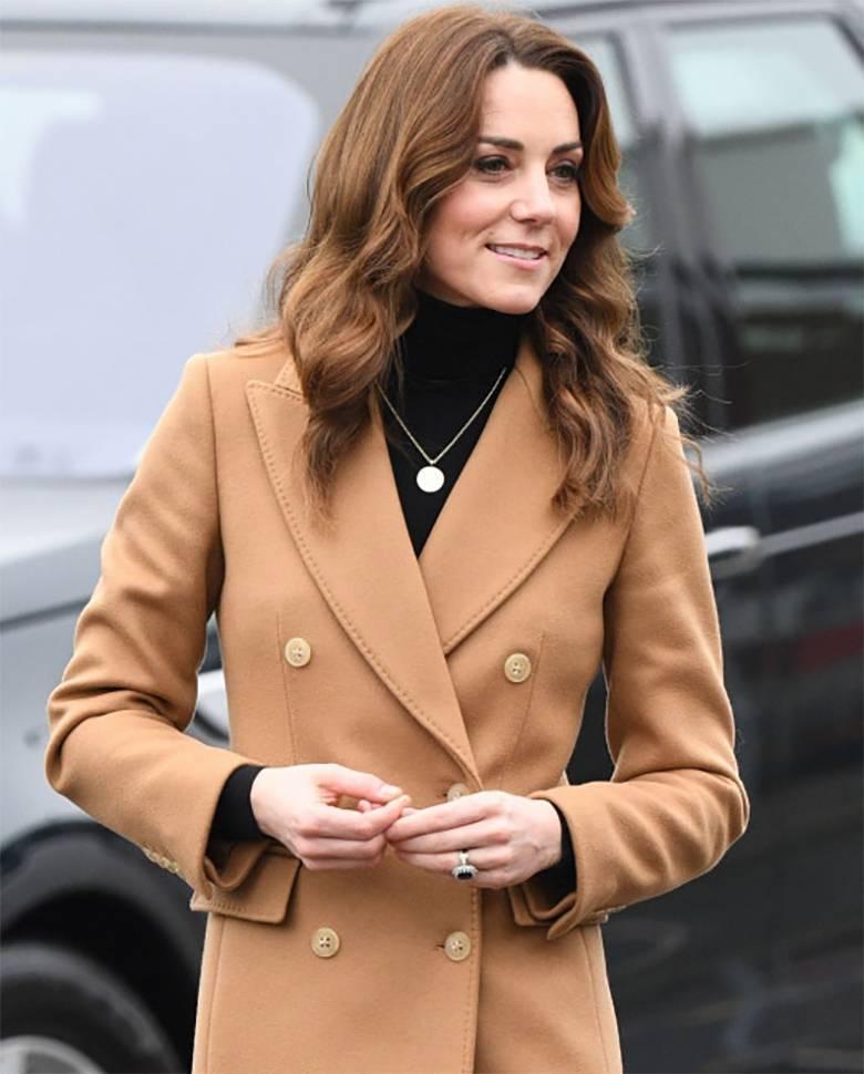 Księżna Kate w odświeżonych włosach w Cardiff