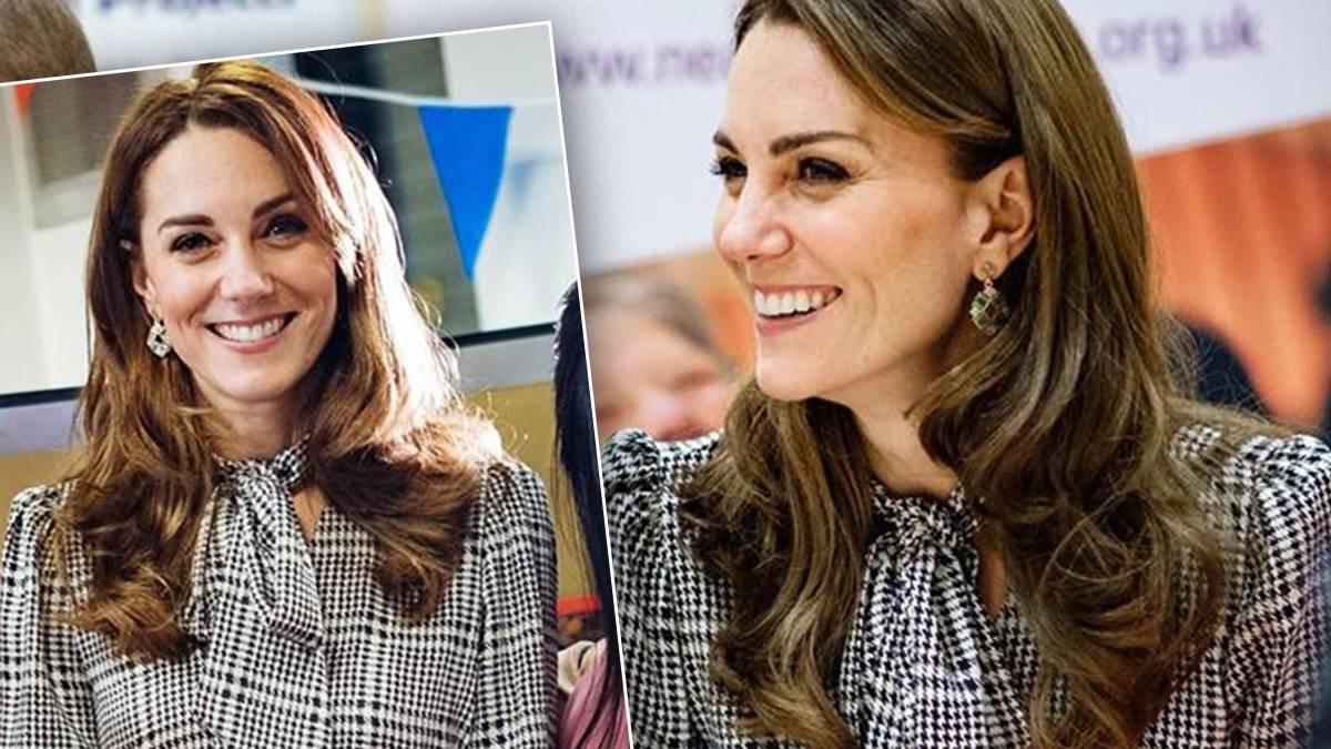 Księżna Kate w sukience z sieciówki