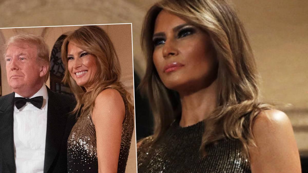 Melania Trump - jaką kreację wybrała na sylwestra?