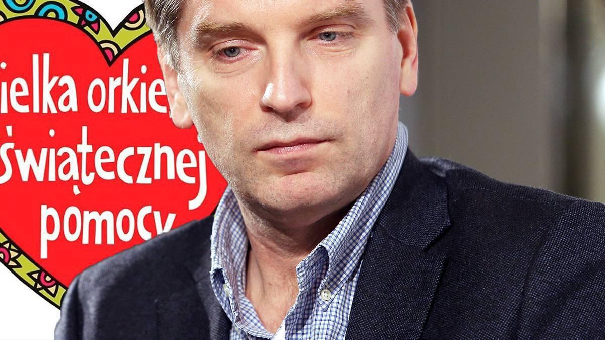 Tomasz Lis wspiera WOŚP