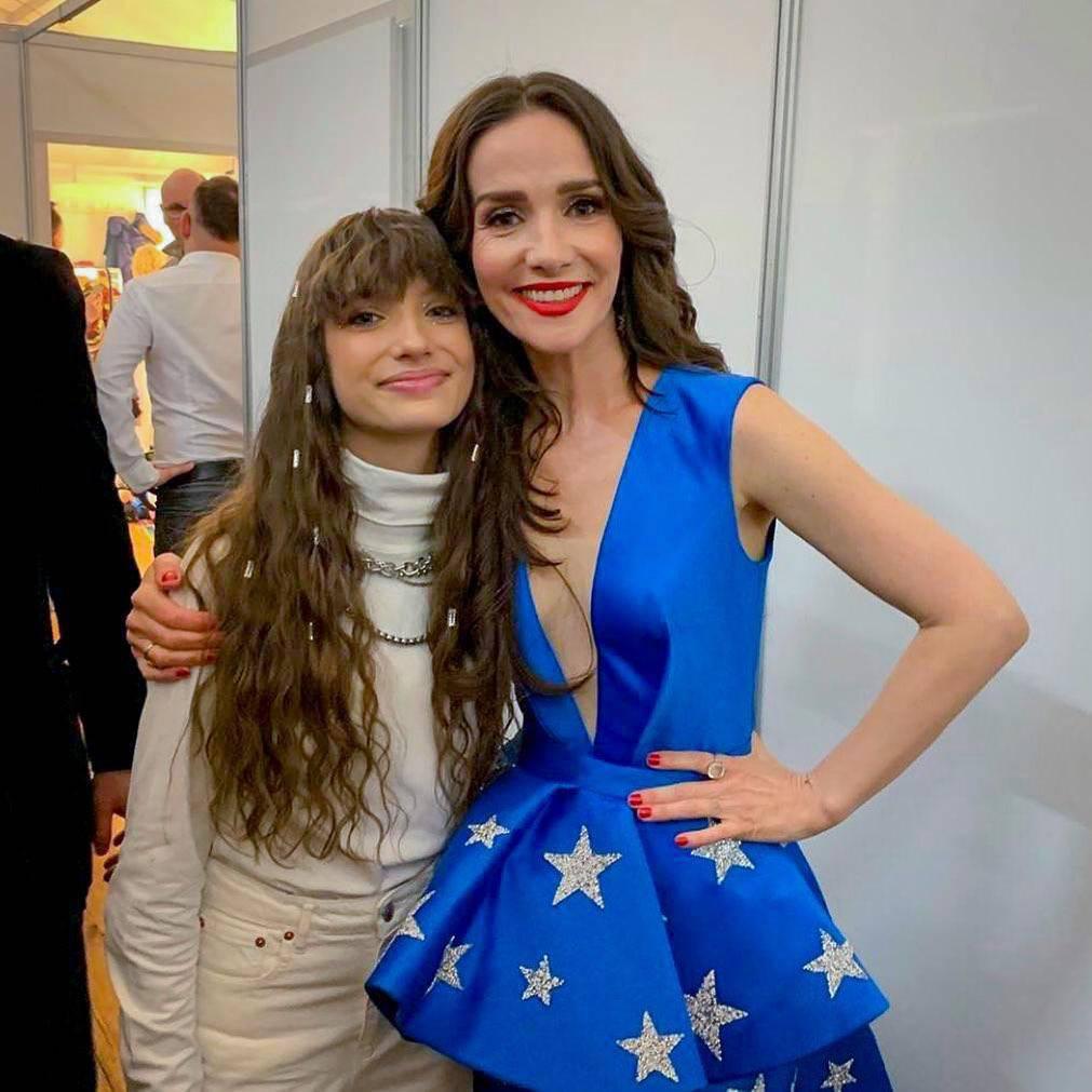 Viki Gabor z Natalią Oreiro na Sylwestrze Marzeń 2019