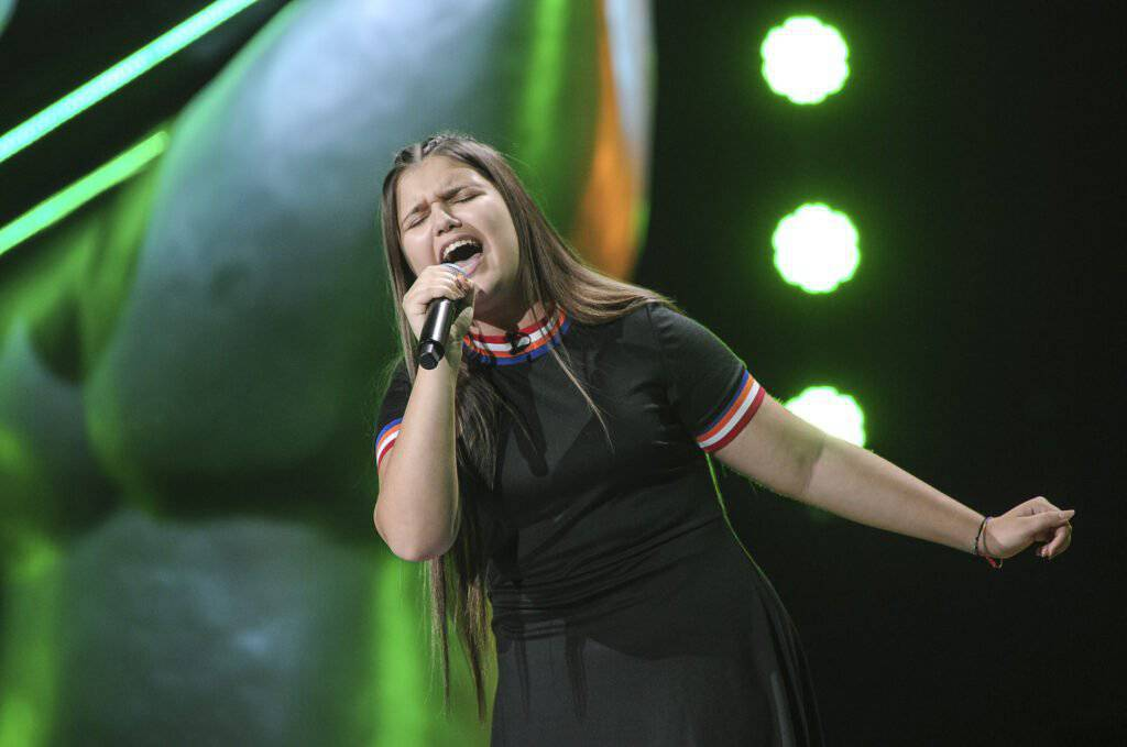 Wiktoria Zwolińska w The Voice Kids