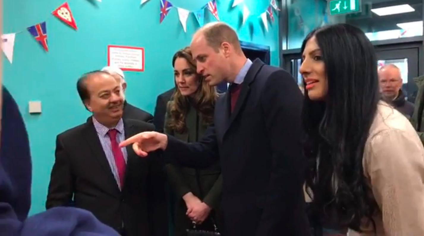 William i Kate z wizytą w Bradford