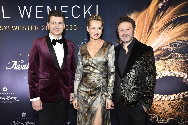 Tomasz Kammel, Piasek i Paulina Smaszcz - sylwester 2019