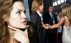 Angelina Jolie, Brad Pitt i Jennifer Aniston
