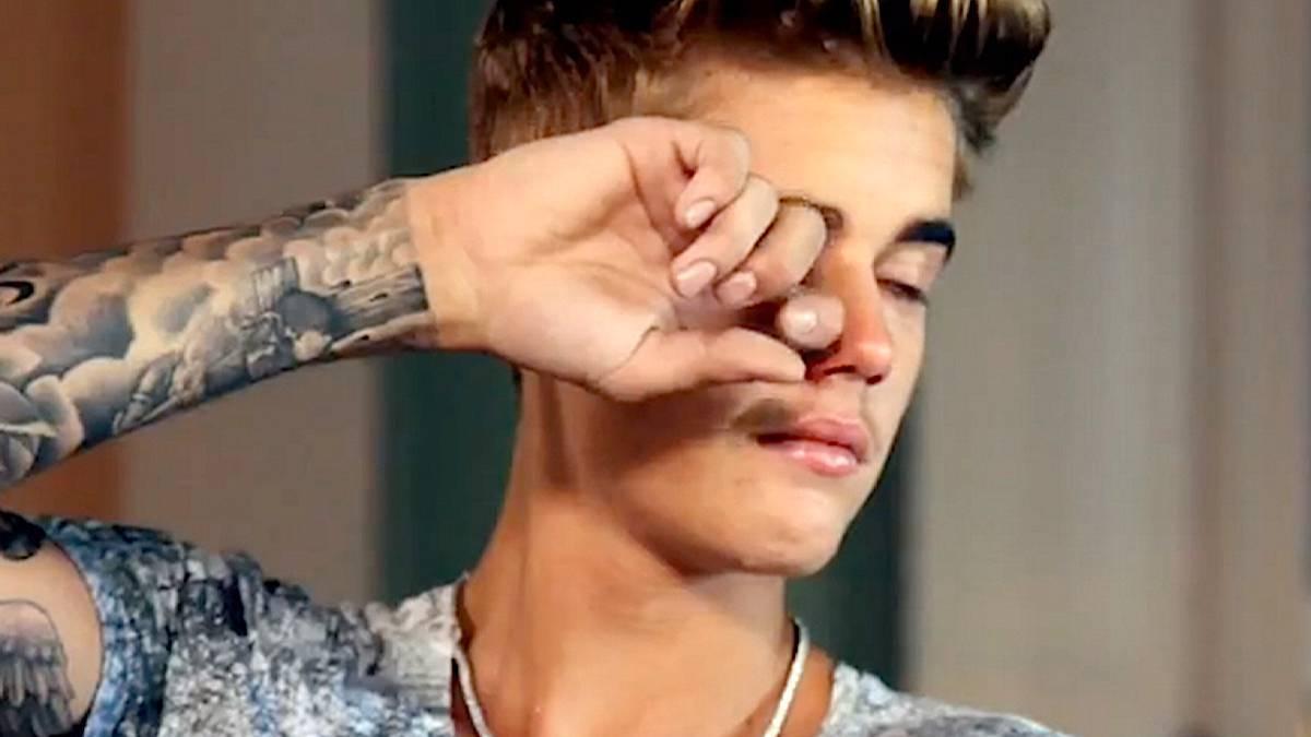 Justin Bieber: choroba