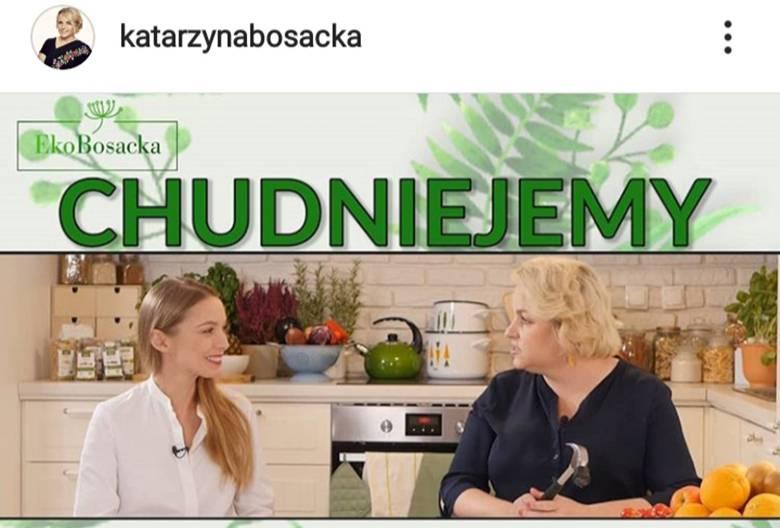 Katarzyna Bosacka - korzysta z Bistrobox