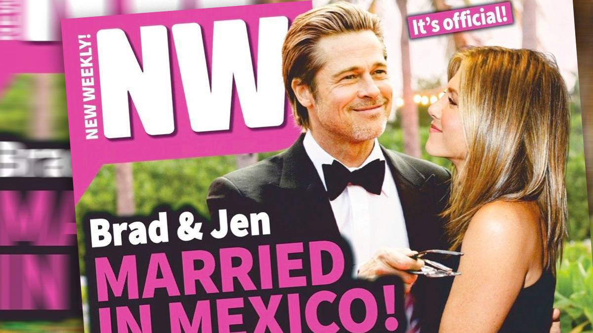 Brad Pitt i Jennifer Aniston wzięli ślub w Meksyku?