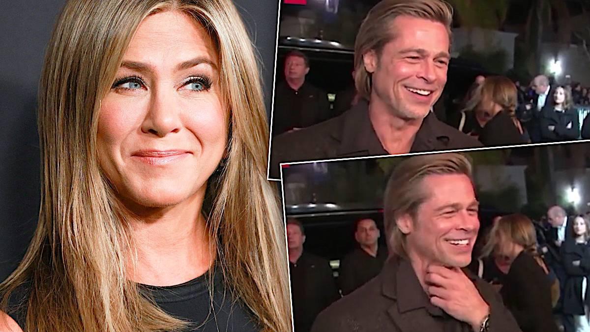 Brad Pitt o relacji z Jennifer Aniston
