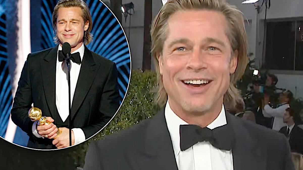 Brad Pitt – Złote Globy 2020