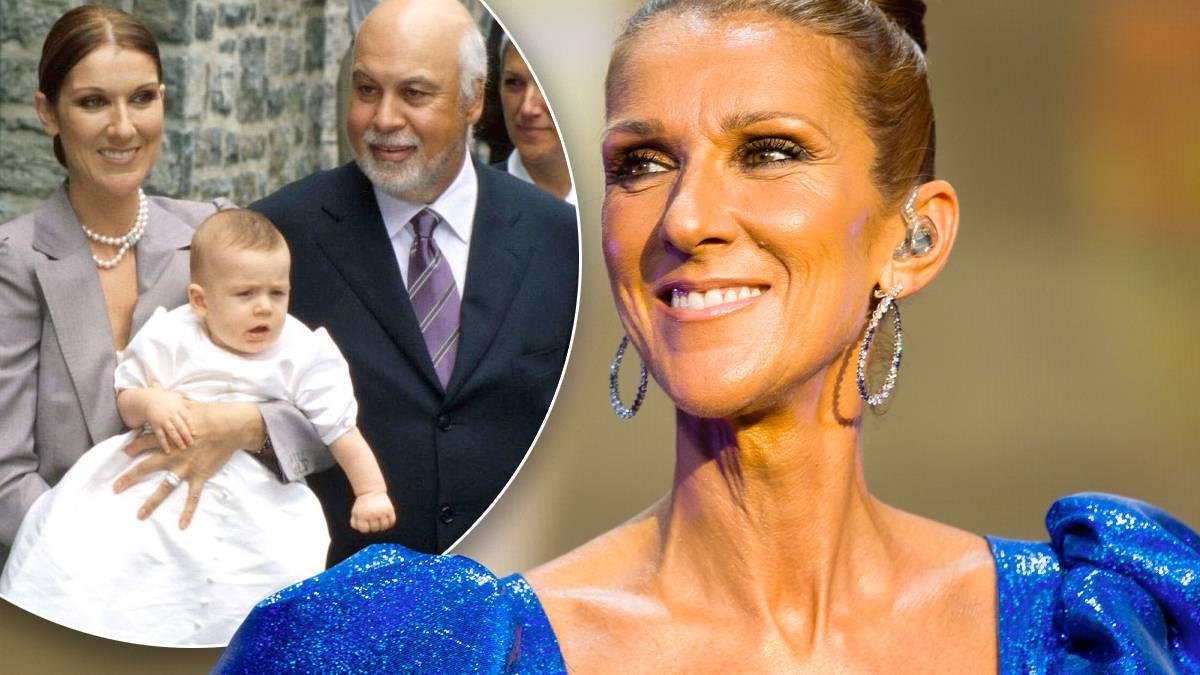 Celine Dion pokazała syna Rene-Charlesa
