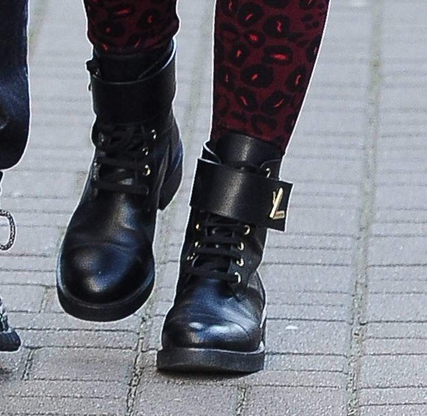 Ewa Chodakowska – buty Louis Vuitton