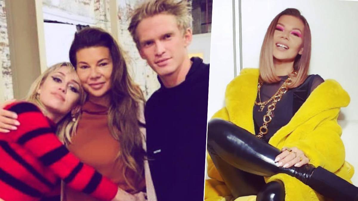Edyta Górniak jest w stałym kontakcie z Miley Cyrus i jej nowym kochankiem! Wszystko zdradził jeden komentarz